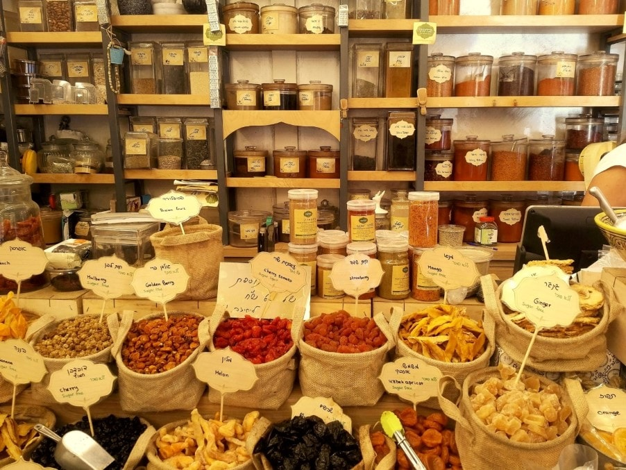 tavlinsky spice shop Vegan Tel Aviv food tour with Bitemojo