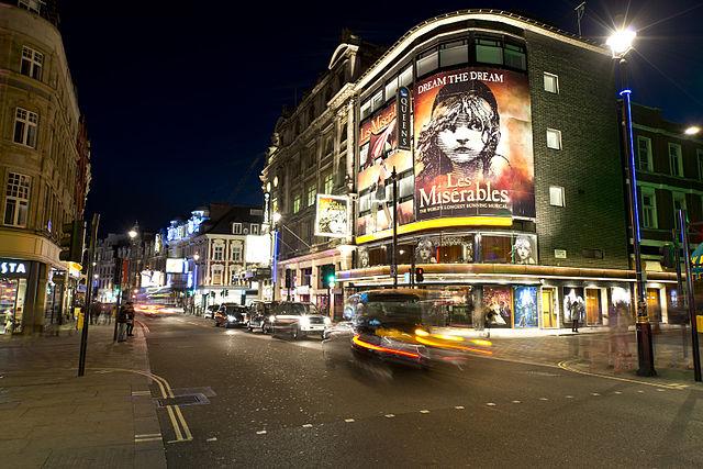London's West End Theatrelan