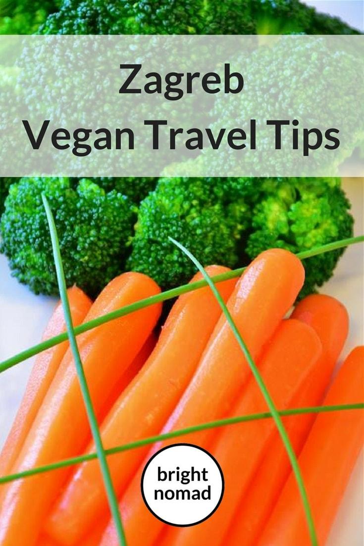 vegan travel Zagreb Croatia