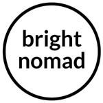 Bright Nomad Travel Blog Logo