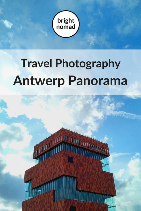 Antwerp Belgium Panorama Photography