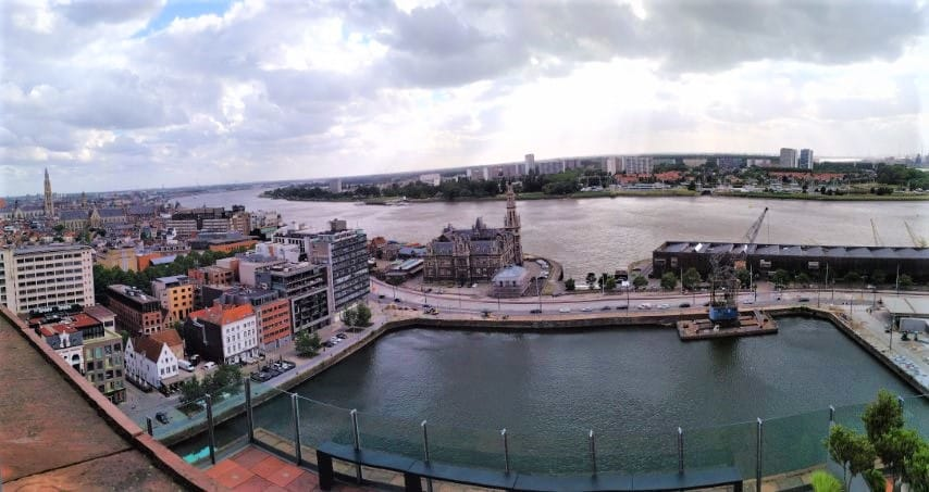 Antwerp- Panoramic view