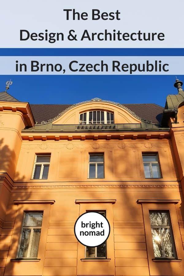 Architecture and design in Brno