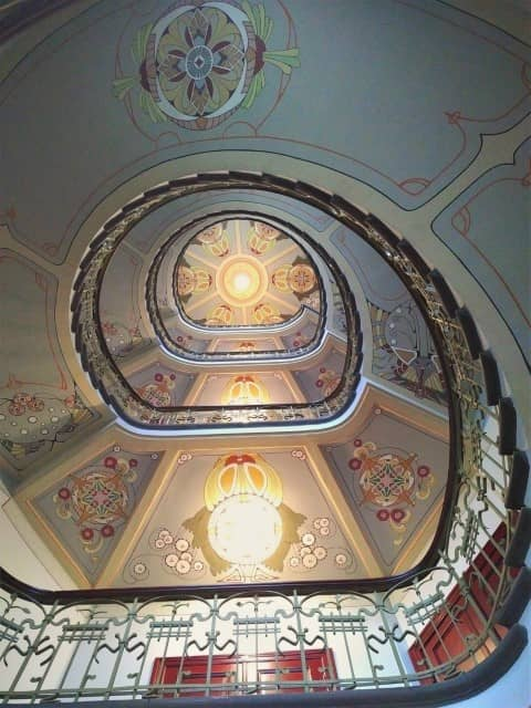 The Staircase - Art Nouveau architecture in Riga
