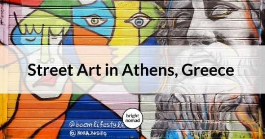 Athens Greece Street Art Tour