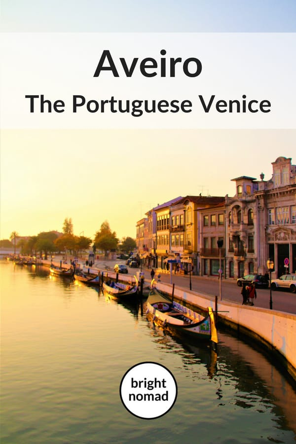 Aveiro Portugal travel blog post