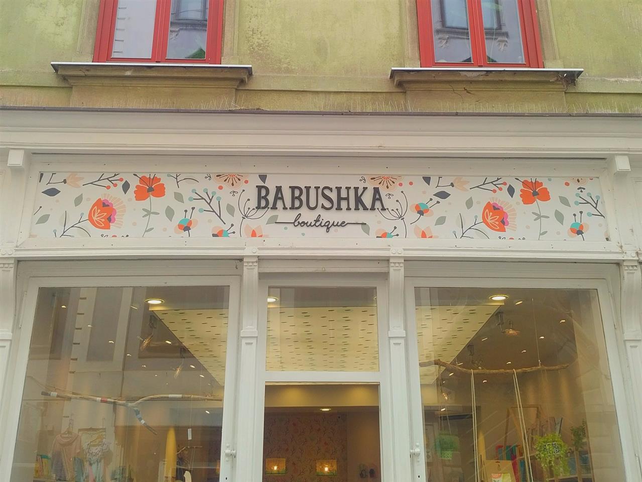 Babushka design store Ljubljana