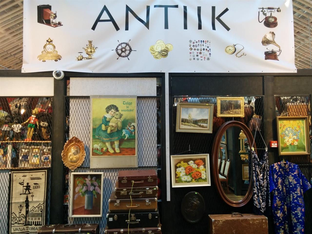 Balti Jamma Turg - Antiques in Tallinn