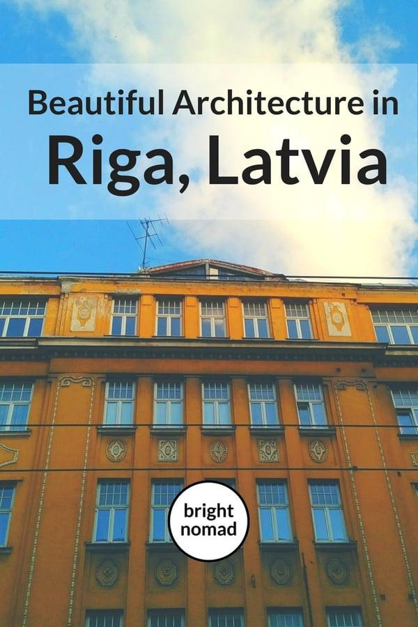 Beautiful Architecture in Riga