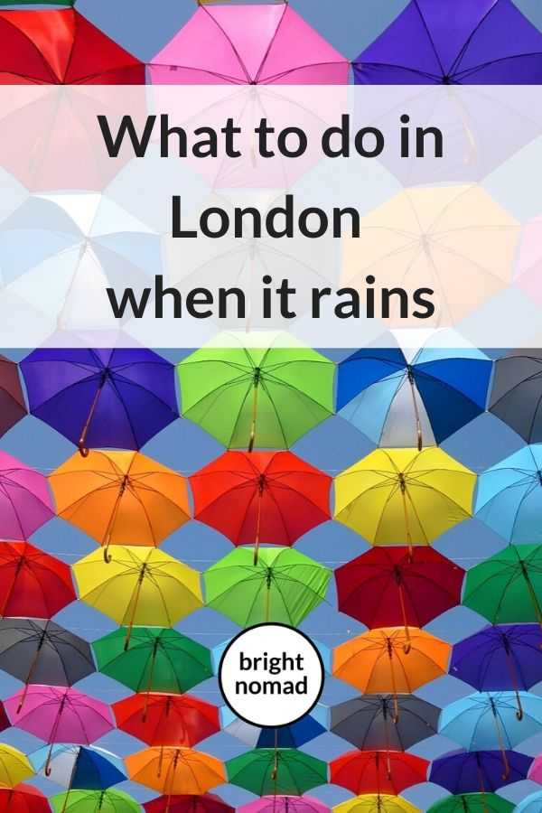 Best Things To Do in London When It Rains