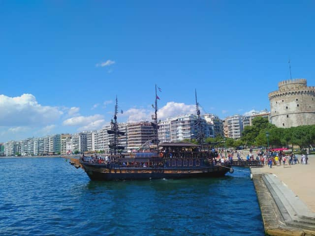 Boat tour in Thessaloniki
