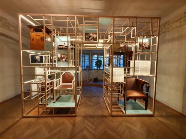 Jurkovič House - exhibition room