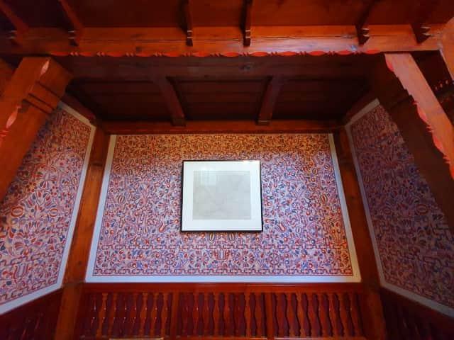 Folk design elements at Jurkovič House in Brno
