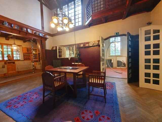 Jurkovič House - main living space