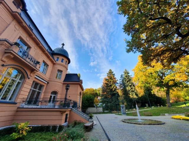 Brno Low Beer Villa and garden