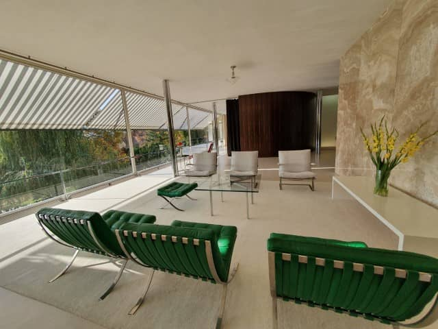 Brno Villa Tugendhat- The living space chairs