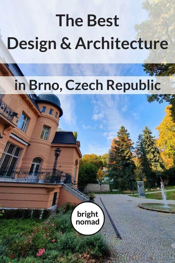 Brno design and architecture guide