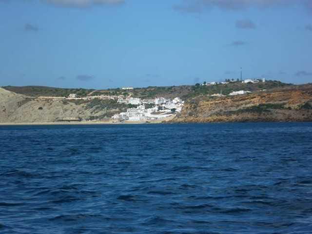 Burgau village in the Algarve.