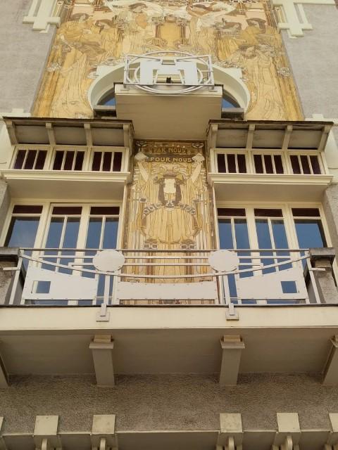 Art Nouveau Architecture in Brussels - Cauchie House