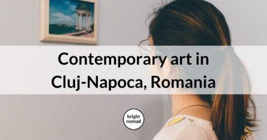 Contemporary art in Cluj-Napoca Romania