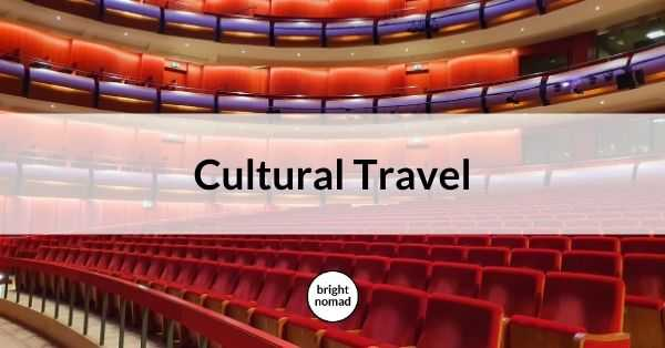 Cultural Travel Urban Travel