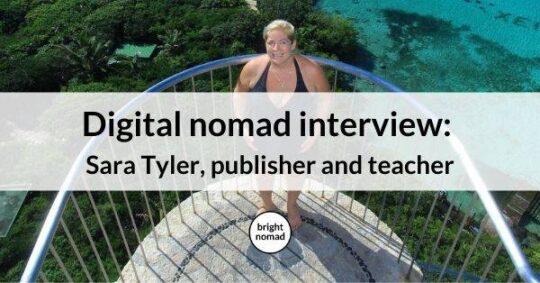 Digital nomad interview published teacher