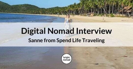 Digital nomad travel blogger