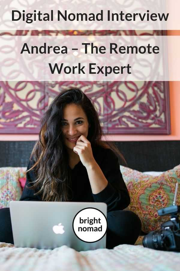 Digital nomad interview - vlogger and remote work consultant