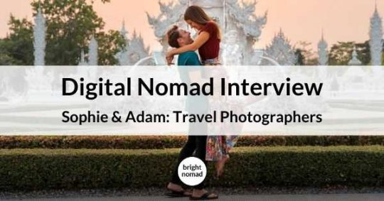Digital nomad photographers