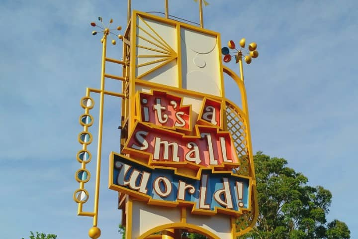 Disneyland - it's a small world after all