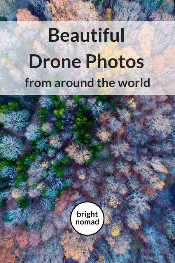Drone photography from around the world by travel bloggers