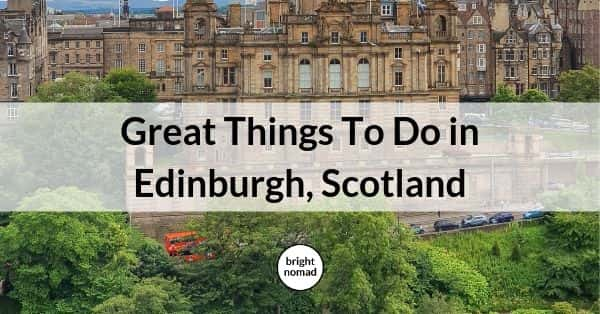 Edinburgh things to do