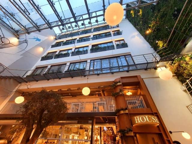 Ergon House Hotel atrium