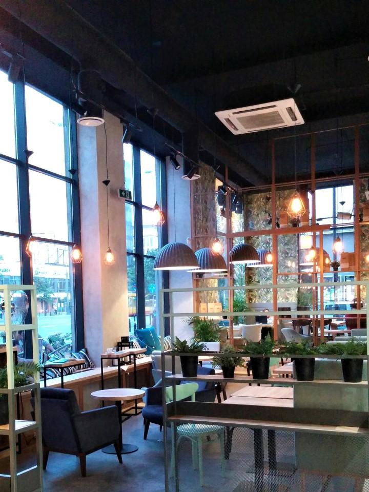 Etno laptop friendly cafe Warsaw