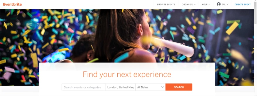 Eventbrite - find events around the world