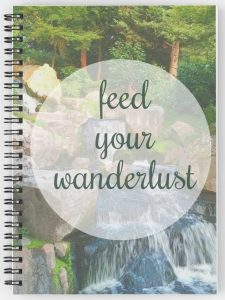 Feed your wanderlust travel journal