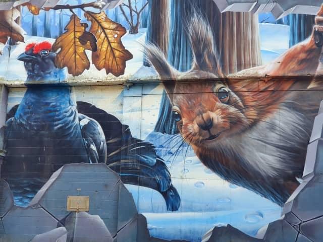 Fellow Glasgow Residents - Street art (3)