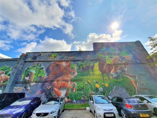 Fellow Glasgow Residents - Street art by Smug