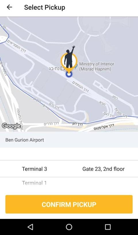 Gett taxi app - Super useful in Israel