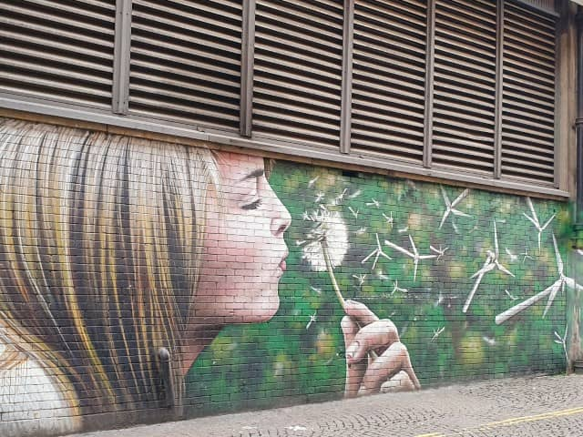 Glasgow Street Art - Wind Power