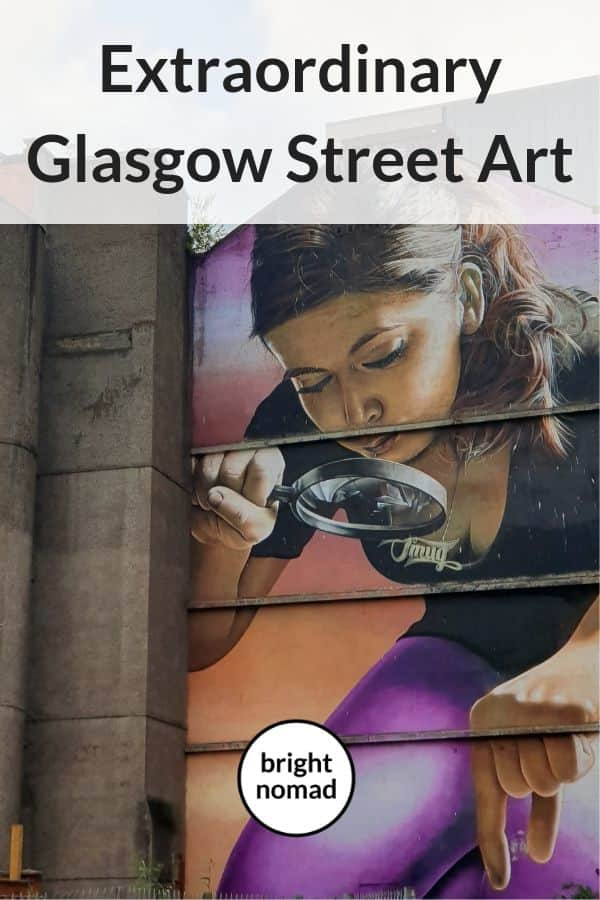 Glasgow street art murals and locations