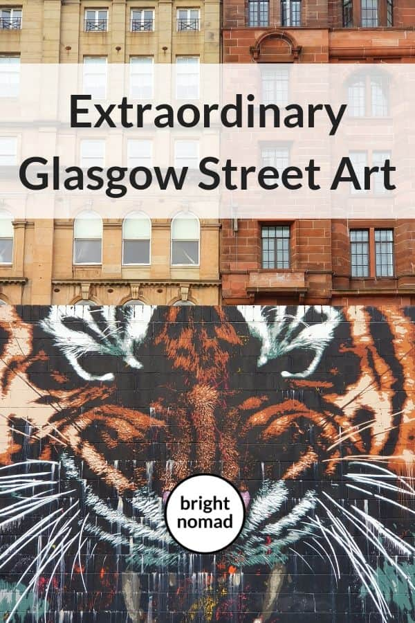 Glasgow street art tour
