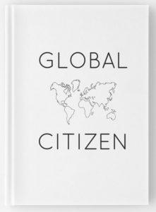 Global Citizen minimalist travel journal for digital nomads