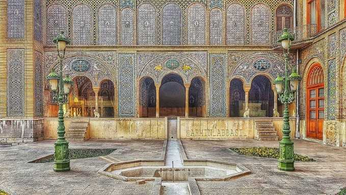 Golestan Palace in Tehran, Iran - virtual tour