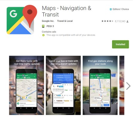 Offline Maps Compared: Maps.me and Google Maps - Bright Nomad on google earth android, youtube android, google quick search box android, google maps mobile, google chrome android, quickoffice android, google play android, google voice search android, google calendar android,