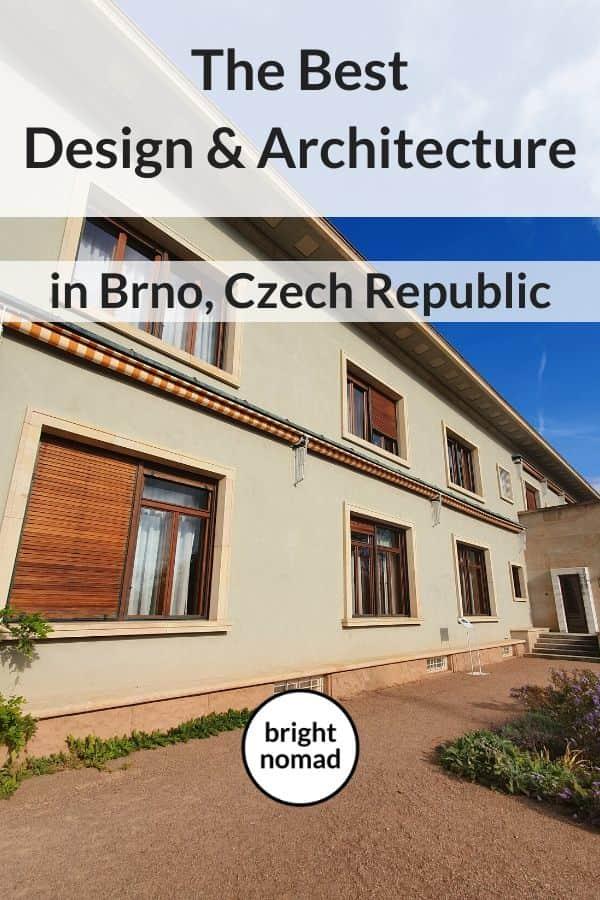 Great design and architecture in Brno