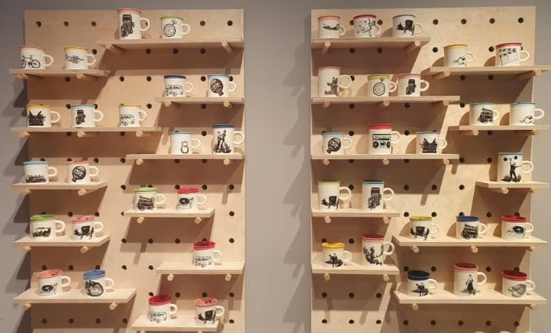 Handmade by ArtE Artisan mugs Sofia