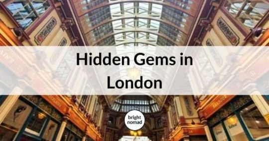 Hidden gems in London - Unique and unusual places