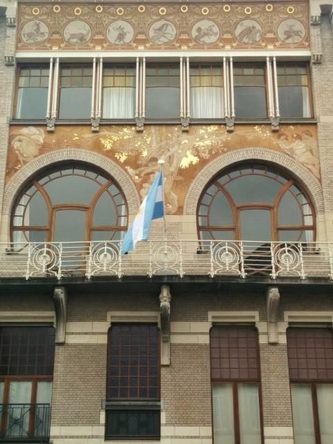 Art Nouveau Architecture in Brussels - Hotel Ciamberlani