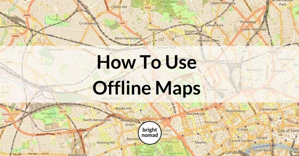 How To Use Offline Maps